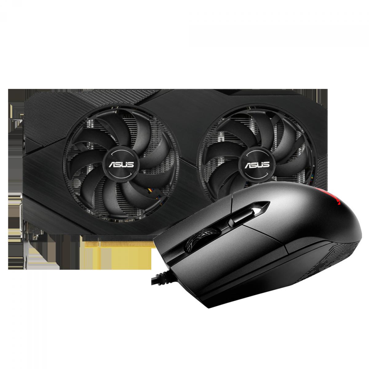 Kit Upgrade ASUS GeForce RTX 2060 OC EVO Dual + ASUS ROG Strix Impact P303