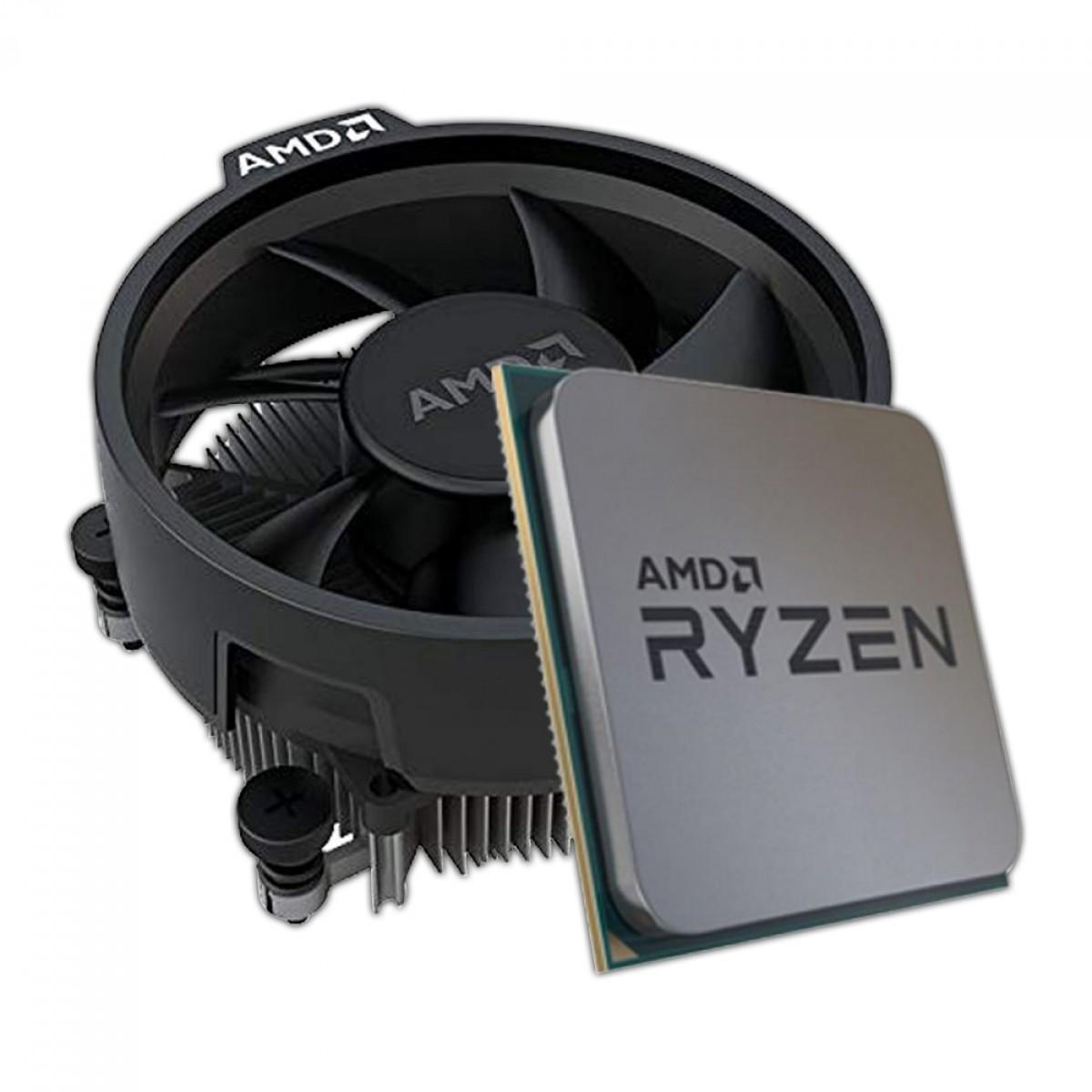 Kit Upgrade Placa Mãe ASRock B450M Steel Legend + Processador AMD Ryzen 5 3400G 3.7GHz (4.2GHz Turbo)