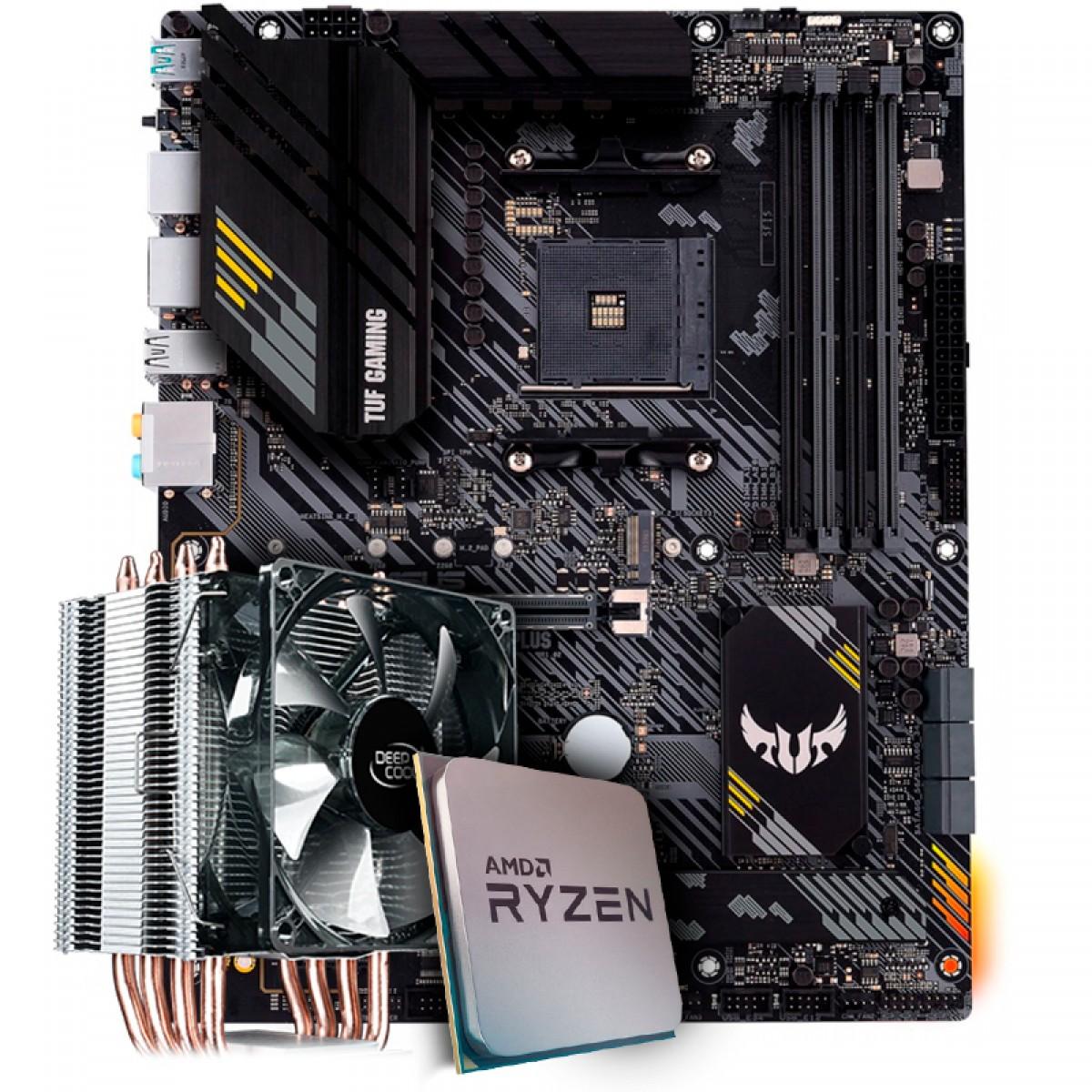 Kit Upgrade, AMD Ryzen 9 3900X, Asus TUF Gaming B550-Plus, Cooler Deepcool Gammaxx