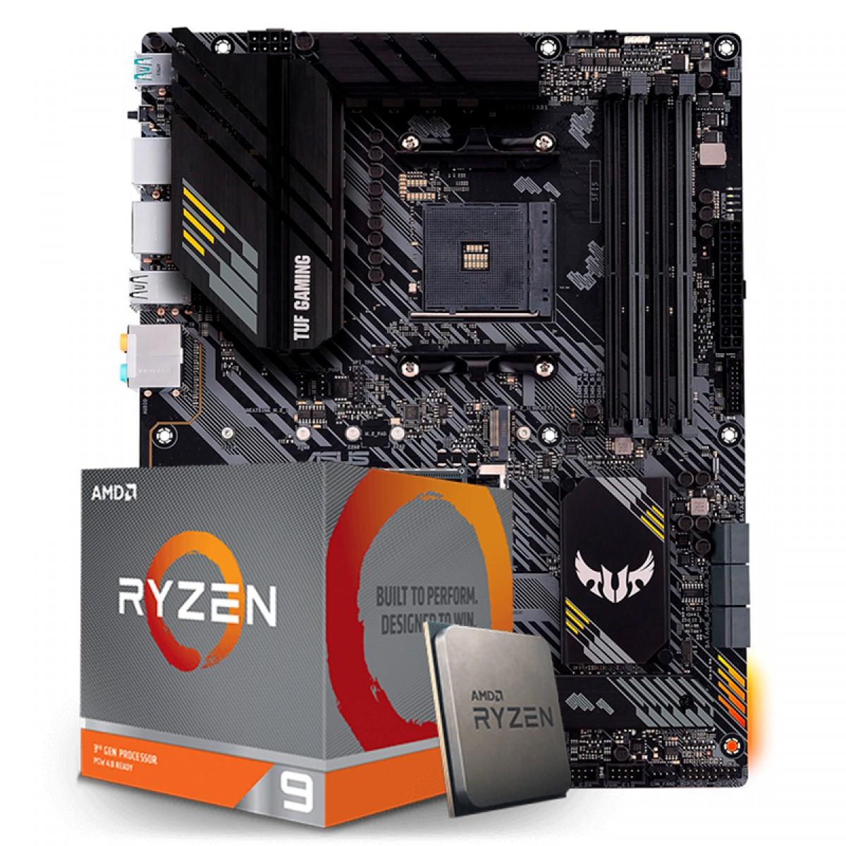 Kit Upgrade, AMD Ryzen 9 3900XT, Asus TUF Gaming B550-Plus