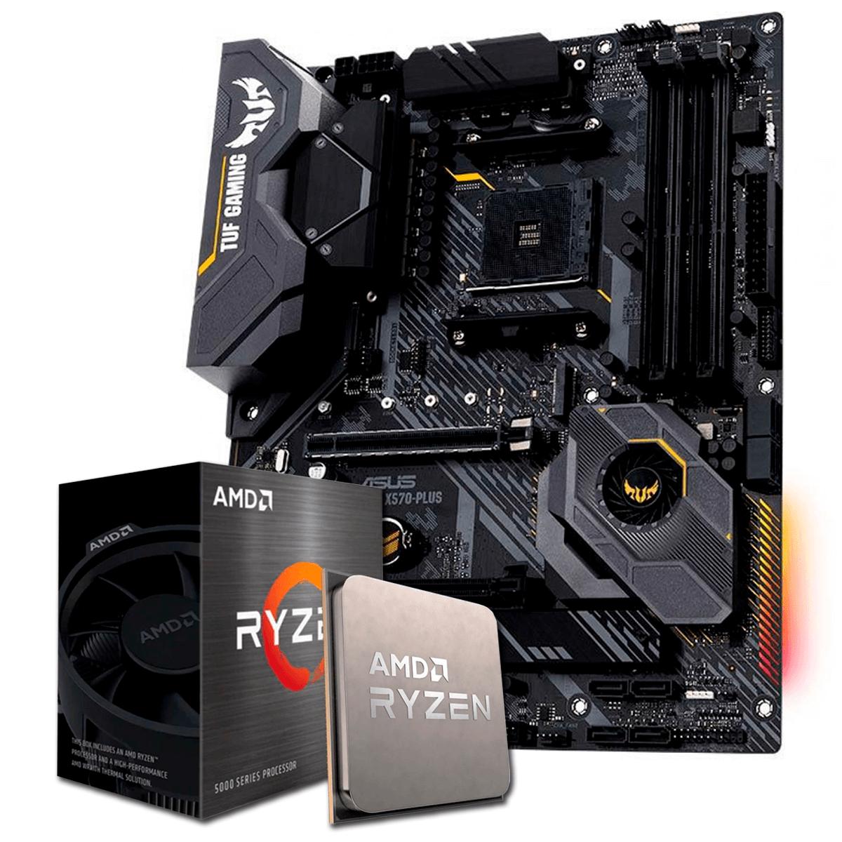 Kit Upgrade, AMD Ryzen 5 5600X, Asus TUF Gaming X570-Plus