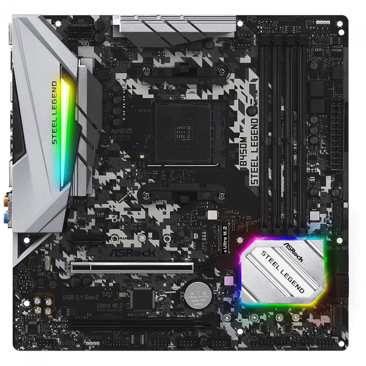 Kit Upgrade, ASRock B450M Steel Legend + AMD Ryzen 5 PRO 4650G