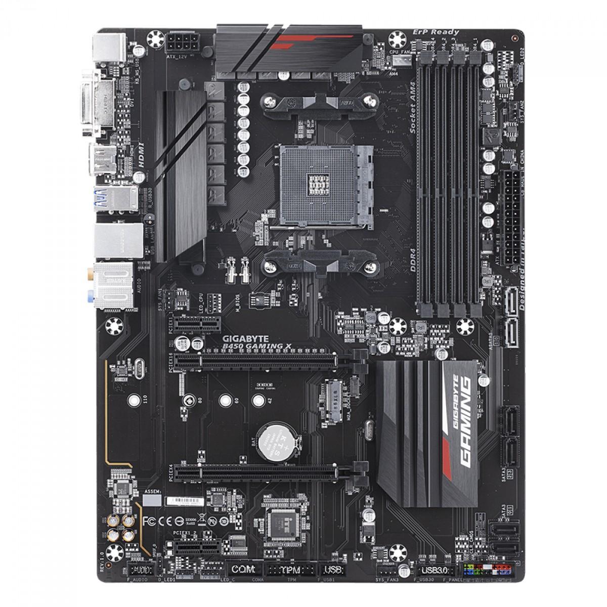 Kit Upgrade, AMD Ryzen 5 PRO 4650G + Gigabyte B450 Gaming X