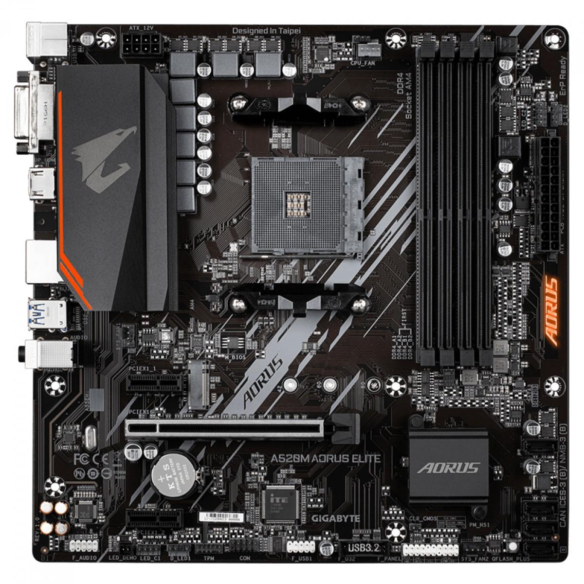 Kit Upgrade, AMD Ryzen 5 PRO 4650G + Gigabyte A520M Aorus Elite