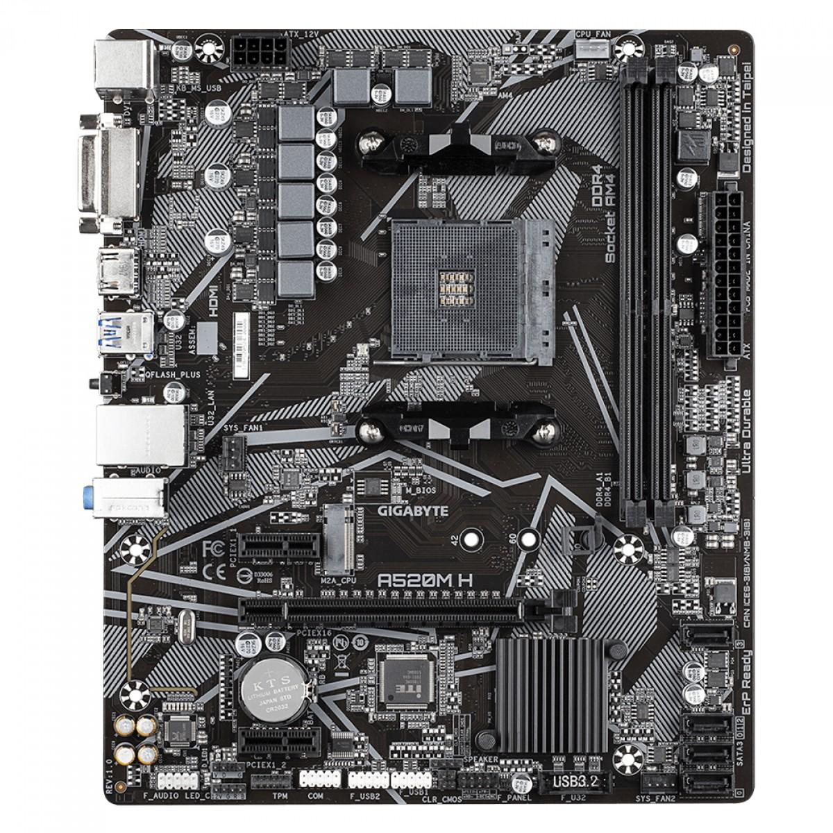 Kit Upgrade, AMD Ryzen 5 PRO 4650G + Gigabyte A520M H