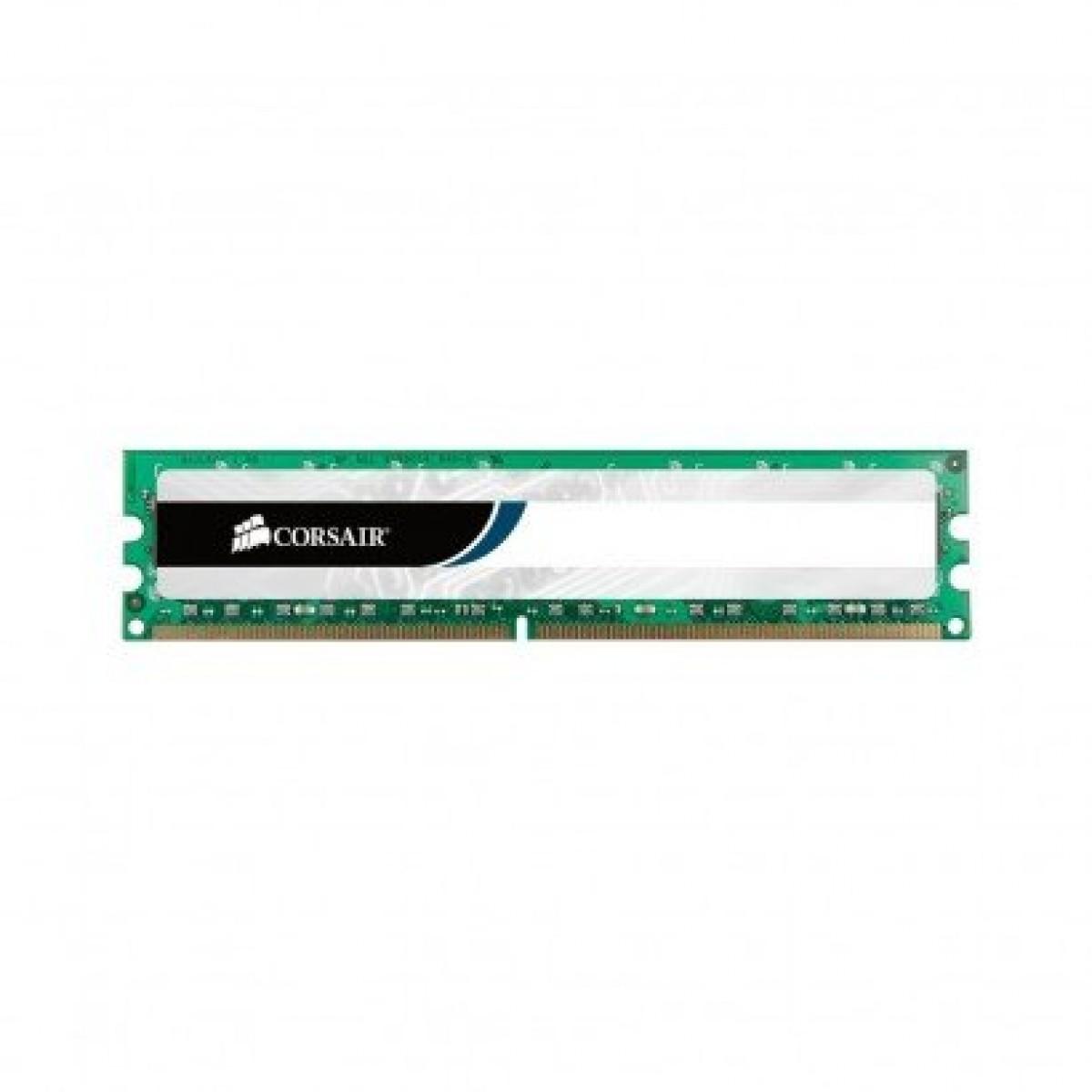 Memória DDR3 Corsair Value Series 4GB 1600MHz