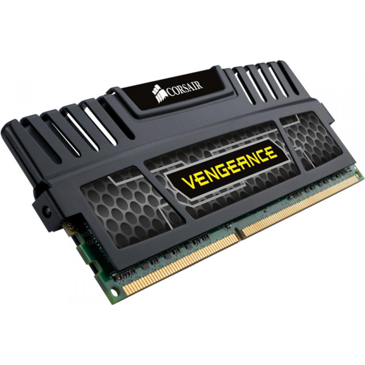 Memória DDR3 Corsair Vengeance, SDP, 4GB 1600MHz, CMZ4GX3M1A1600C9