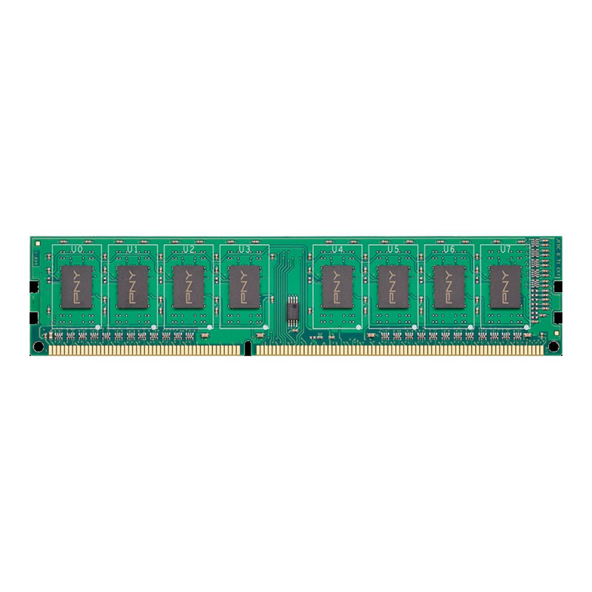 Memória DDR3 PNY Perfomance, 8GB , 1600MHZ, MD8GSD31600NHS