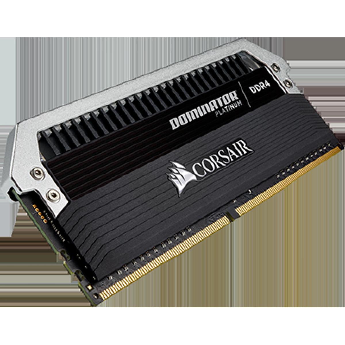 Memória DDR4 Corsair Dominator Platinum, 16GB (2x8GB), 3200MHz, CMD16GX4M2B3200C16