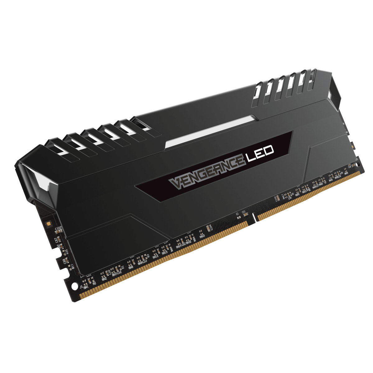 Memória DDR4 Corsair Vengeance, 16GB (2x8GB) 2666MHz, LED White, CMU16GX4M2A2666C16