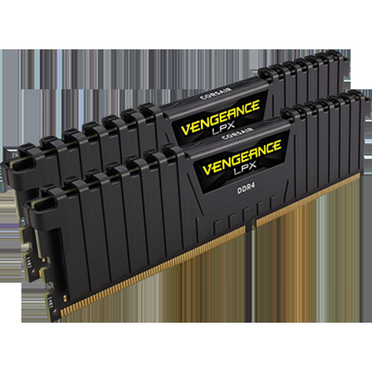 Memória DDR4 Corsair Vengeance LPX, 16GB (2x8GB) 3600MHz, CMK16GX4M2D3600C18