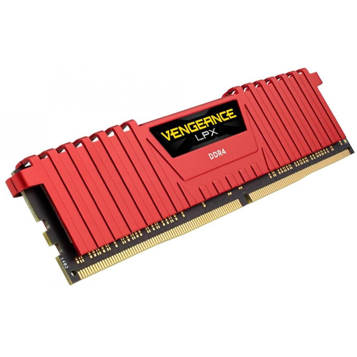 Memória DDR4 Corsair Vengeance LPX, 32GB (2X16GB) 3000MHz, CMK32GX4M2B3000C15R