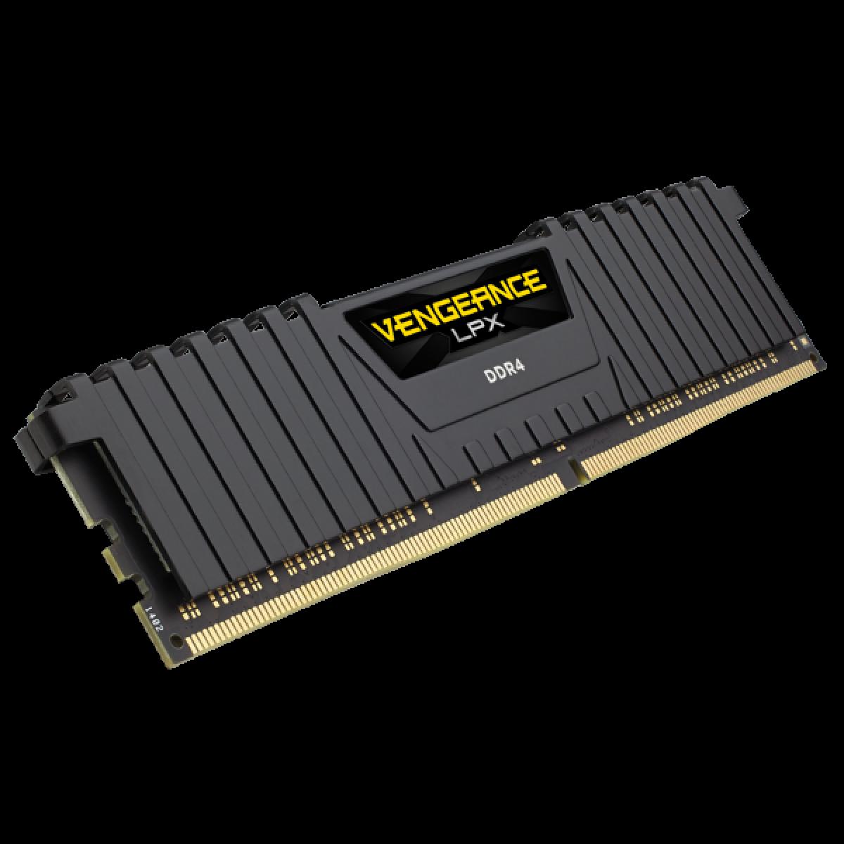 Memória DDR4 Corsair Vengeance LPX, 16GB 3000MHz, CMK16GX4M1D3000C16