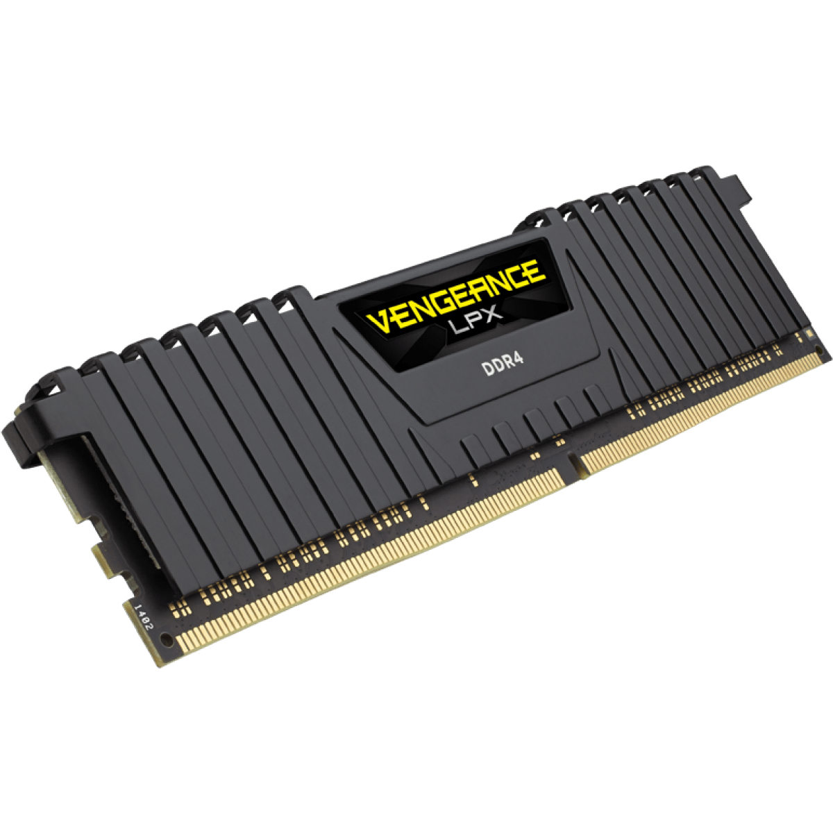 Memória DDR4 Corsair Vengeance LPX, 16GB (2x8GB) 2400MHz, Black, CMK16GX4M2A2400C14