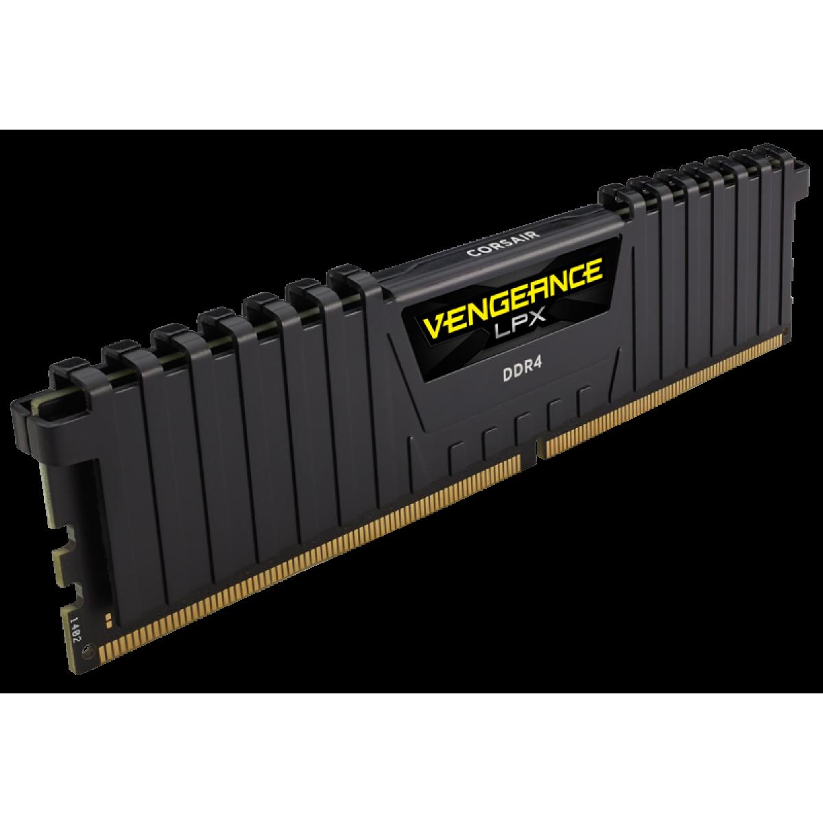 Memória DDR4 Corsair Vengeance LPX, 16GB (2X8GB) 2400MHz, CMK16GX4M2A2400C16