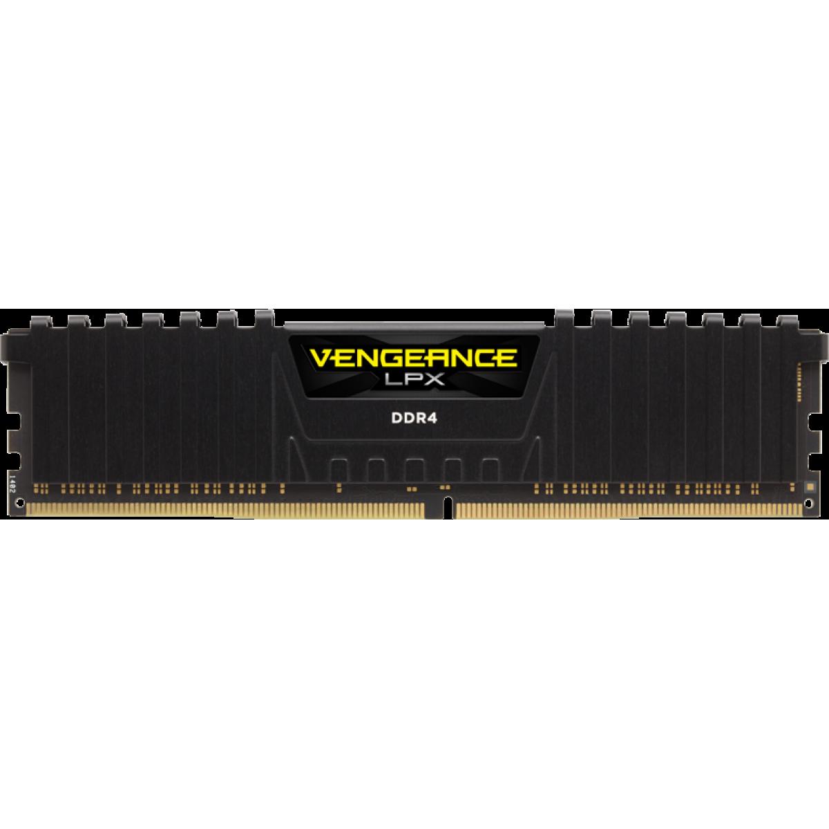 Memória Ddr4 Corsair Vengeance Lpx, 16gb (2x8gb) 3000mhz, CMK16GX4M2B3000C15
