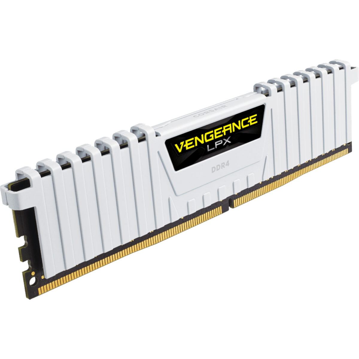 Memória DDR4 Corsair Vengeance LPX, 16GB (2x8GB) 3000MHz, White, CMK16GX4M2B3000C15W