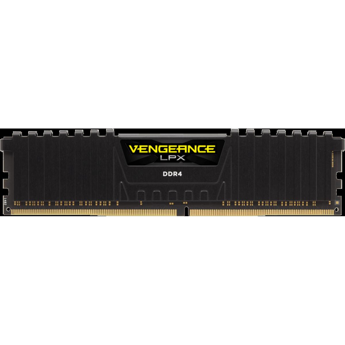 Memória DDR4 Corsair Vengeance LPX, 32GB (2X16GB) 3000Mhz, CMK32GX4M2B3000C15