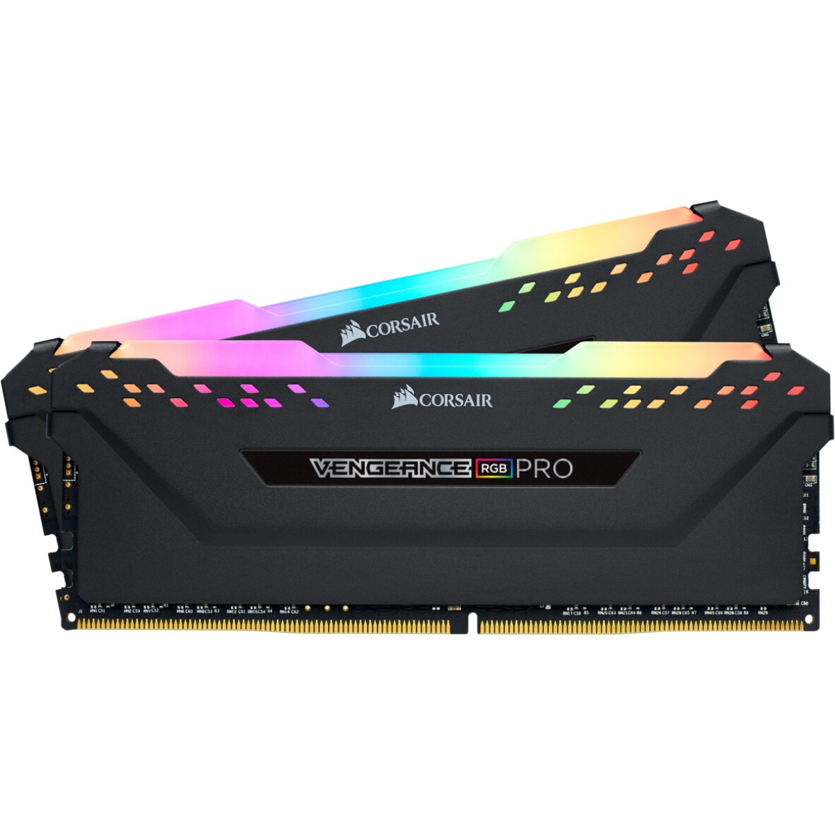 Memória DDR4 Corsair Vengeance RGB Pro, 16GB (2x8GB) 3200MHz, CMW16GX4M2C3200C16