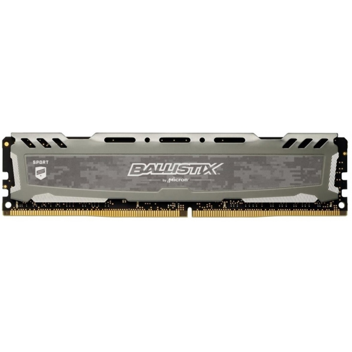 Memória DDR4 Crucial Ballistix Sport LT, 8GB 2666MHz, Grey, BLS8G4D26BFSBK