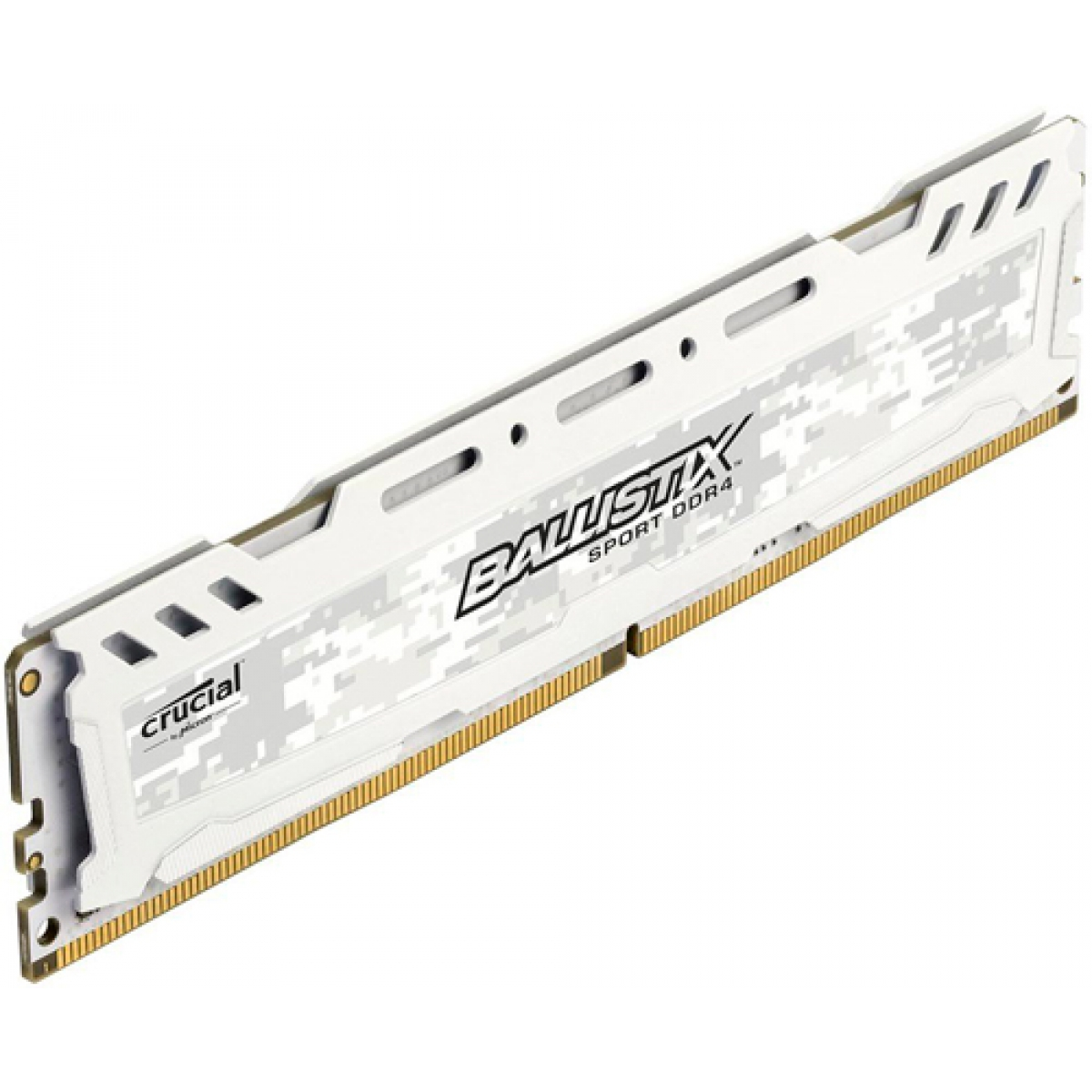 Memória DDR4 Crucial Ballistix Sport Lt, 16GB 2400MHz, White, BLS16G4D240FSC