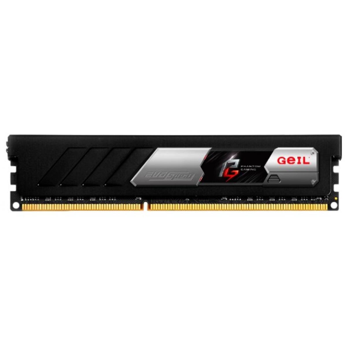 Memória DDR4 Geil Evo Phantom Gaming, 16GB (2X8GB) 3200MHz, Black, GASF416GB3200C16ADC