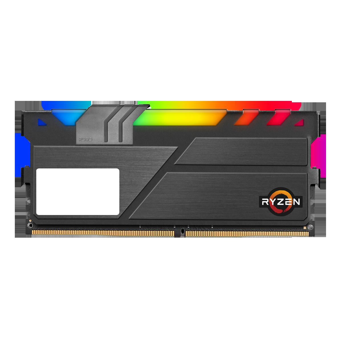 Memória DDR4 Geil EVO X II RGB Sync, Edição AMD, 8GB, 3600MHz, GAEXSY48GB3600C18BSC