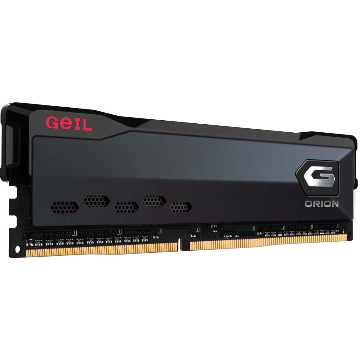 Memória DDR4 Geil Orion, 16GB, 3200MHz, Black, GAOG416GB3200C16BSC