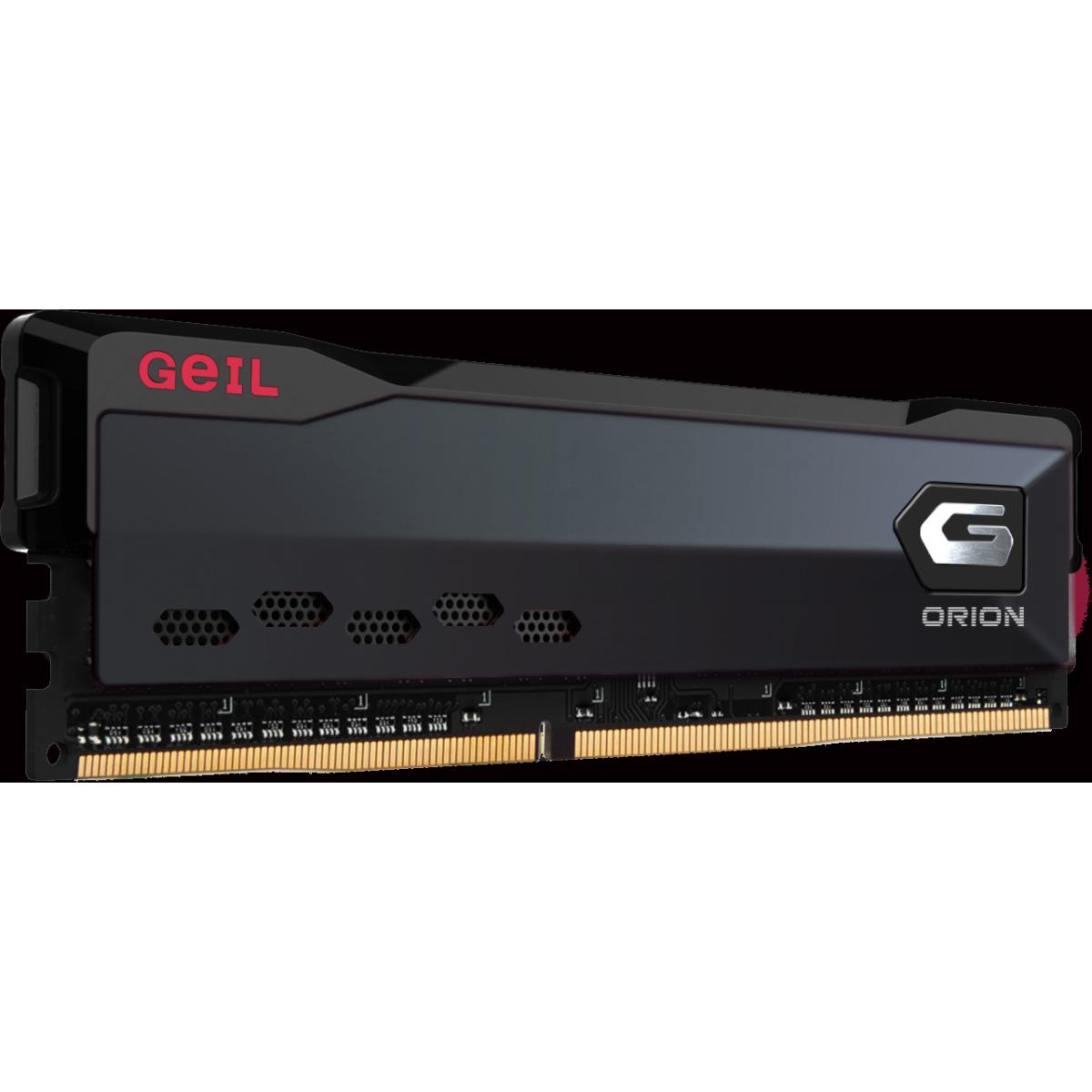 Memória DDR4 Geil Orion, 3000Mhz, 16GB (2x8GB), Black, GAOG416GB3000C16ADC