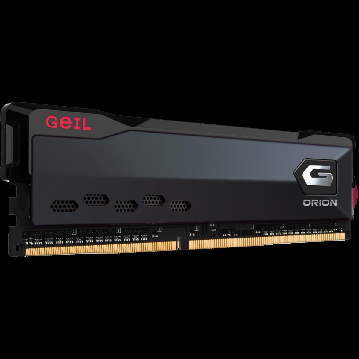 Memória DDR4 Geil Orion, 8GB 3000MHz, Black, GAOG48GB3000C16ASC