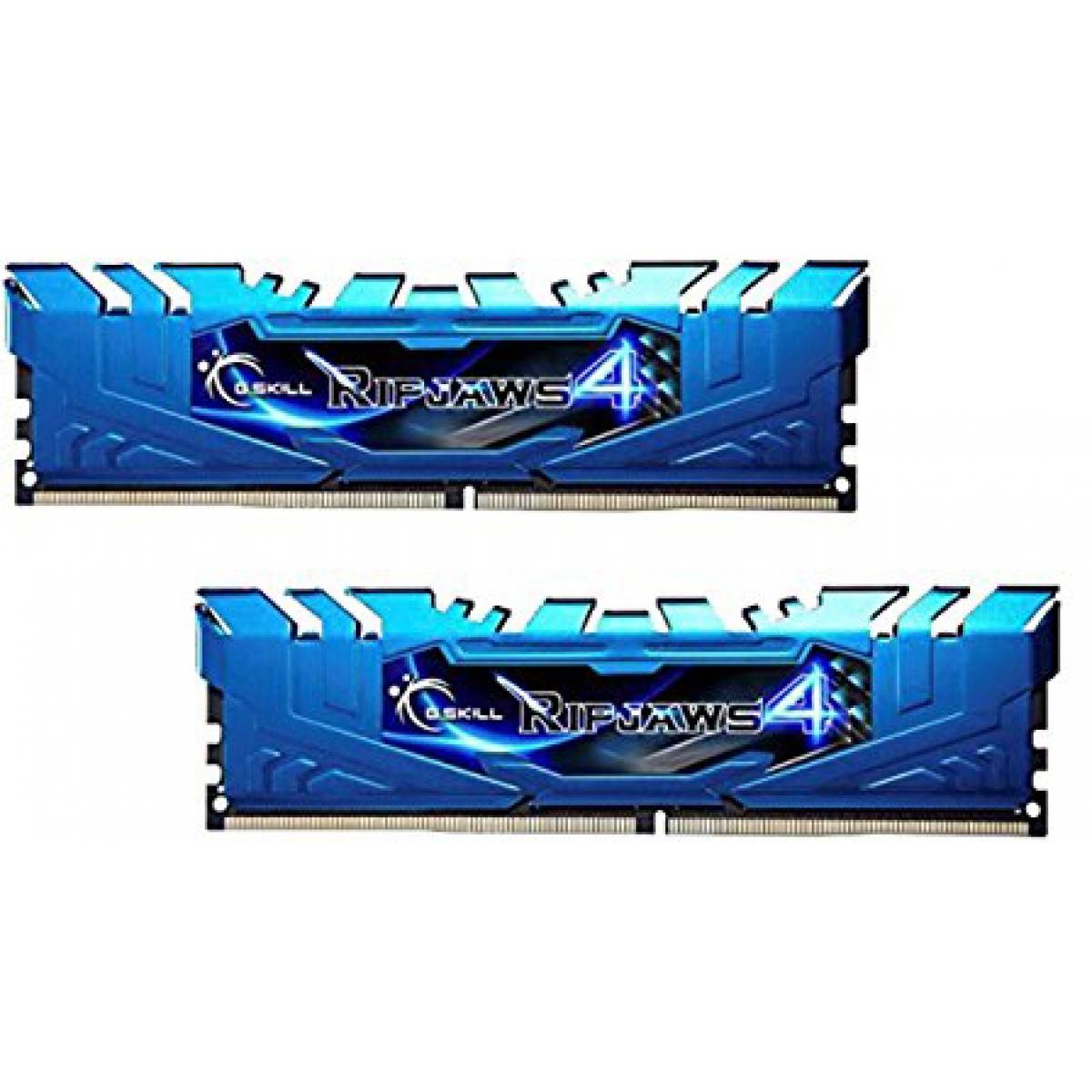 Memória DDR4 G.Skill Ripjaws 4, 16GB (2x8GB) 3000MHz, F4-3000C15D-16GRBB