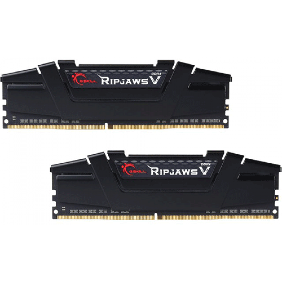 Memória DDR4 G.Skill Ripjaws V, 16GB (2x8GB) 3200MHz, F4-3200C16D-16GVKB
