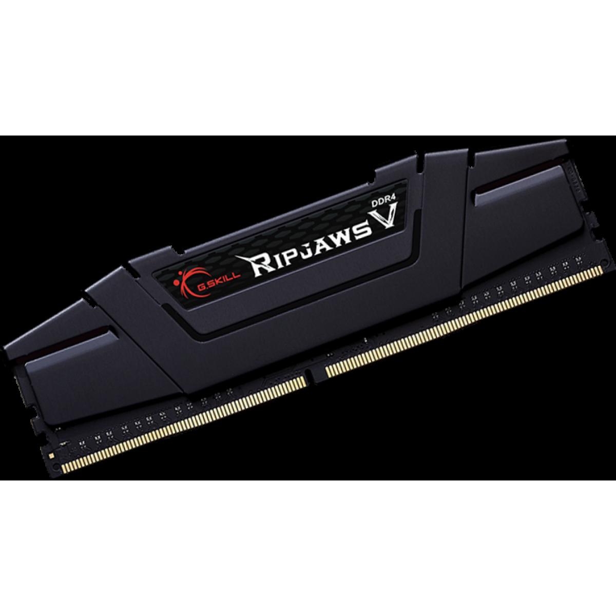 Memória DDR4 G.Skill Ripjaws V, 16GB (2x8GB) 3600MHz, F4-3600C18D-16GVK