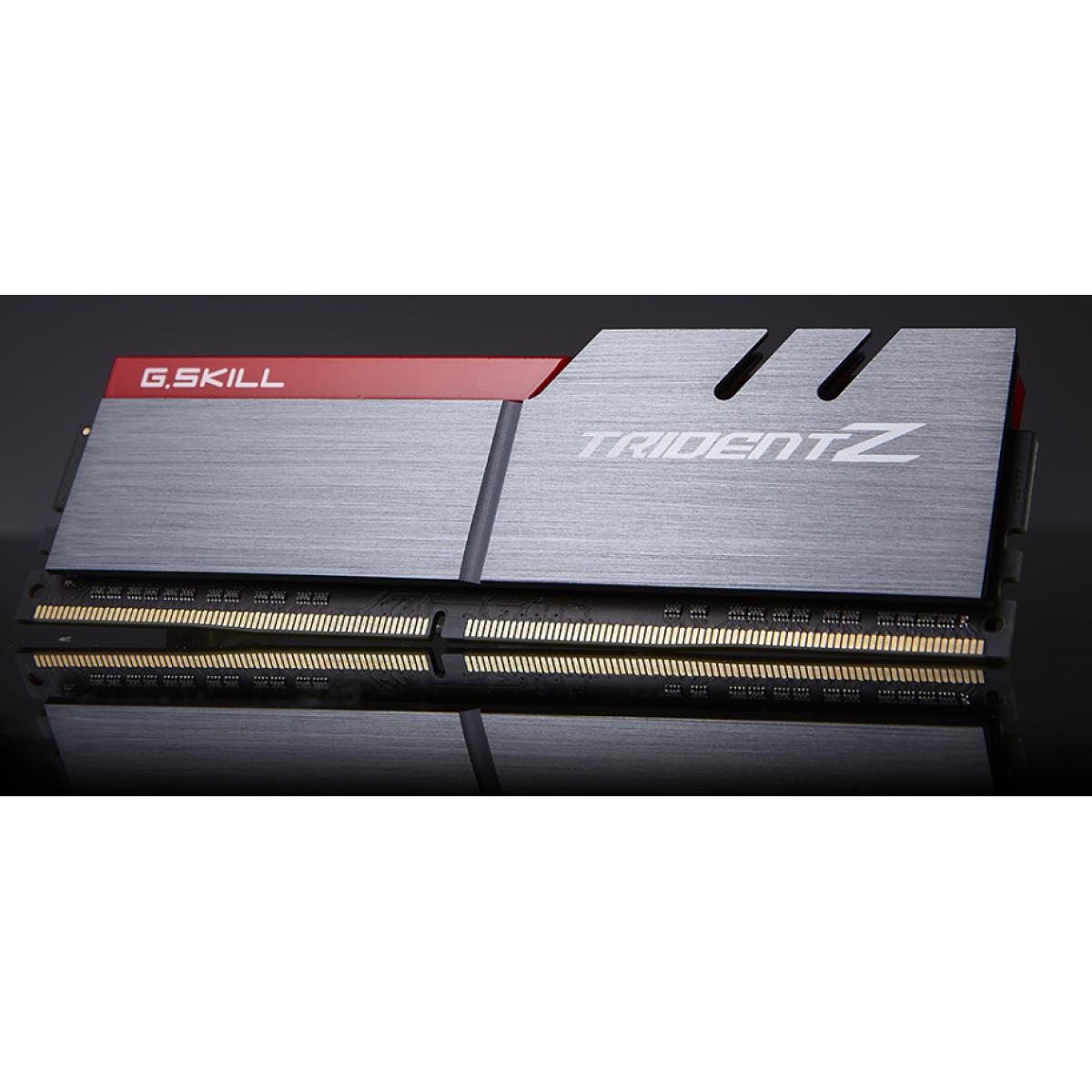 Memória DDR4 G.Skill Trident Z, 16GB (2x8GB) 3000MHz, F4-3000C15D-16GTZ
