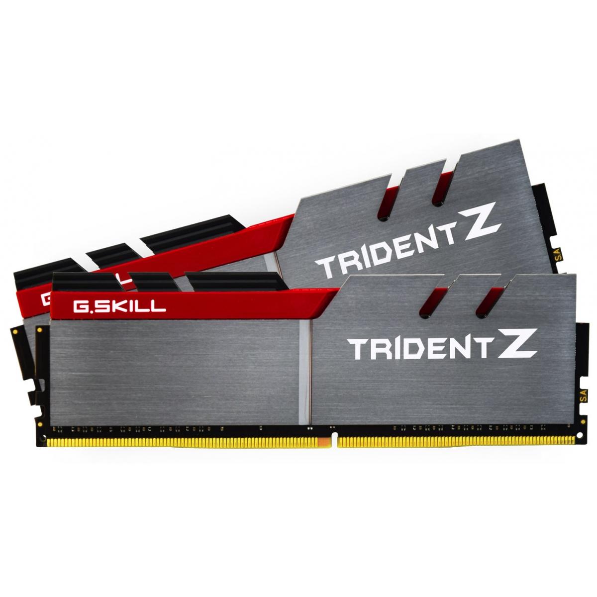 Memória DDR4 G.Skill Trident Z, 16GB (2x8GB) 3000MHz, F4-3000C15D-16GTZB