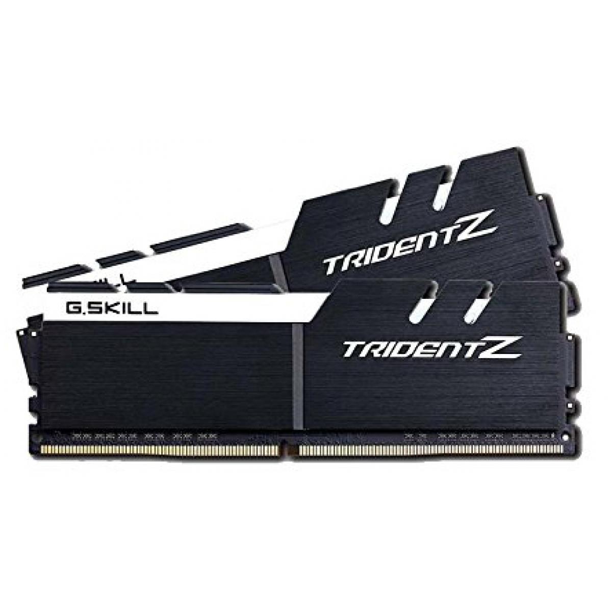Memória DDR4 G.Skill Trident Z, 16GB (2x8GB) 3200MHz, F4-3200C15D-16GTZKW