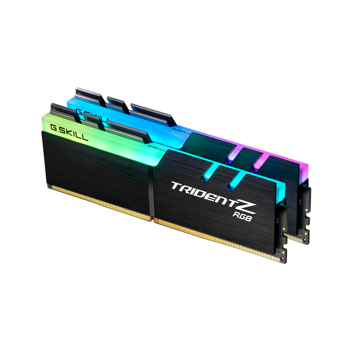 Memória DDR4 G.Skill Trident Z, RGB, 16GB (2x8GB) 4000MHz, F4-4000C18D-16GTZRB