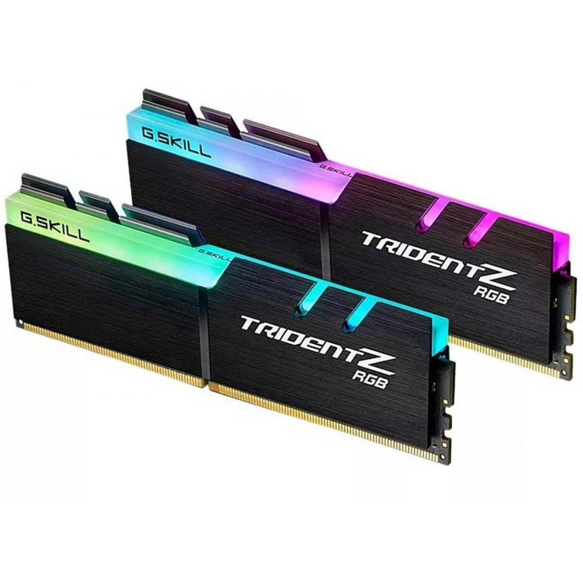 Memória DDR4 G.Skill Trident Z RGB, 32GB (2x16GB) 3200MHz, F4-3200C16D-32GTZR