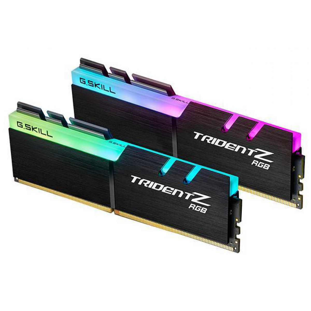 Memória DDR4 G.Skill Trident Z, RGB, 16GB (2x8GB) 2400MHz, F4-2400C15D-16GTZRX