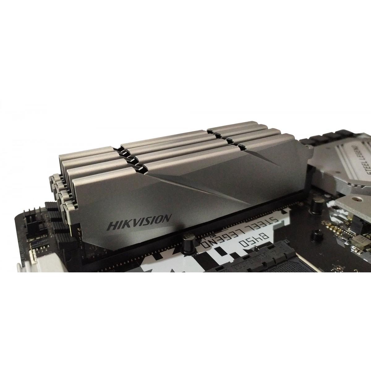 Memória DDR4 Hikvision, 8GB 3000MHz, HKED4081CBA2D1ZA2/8G