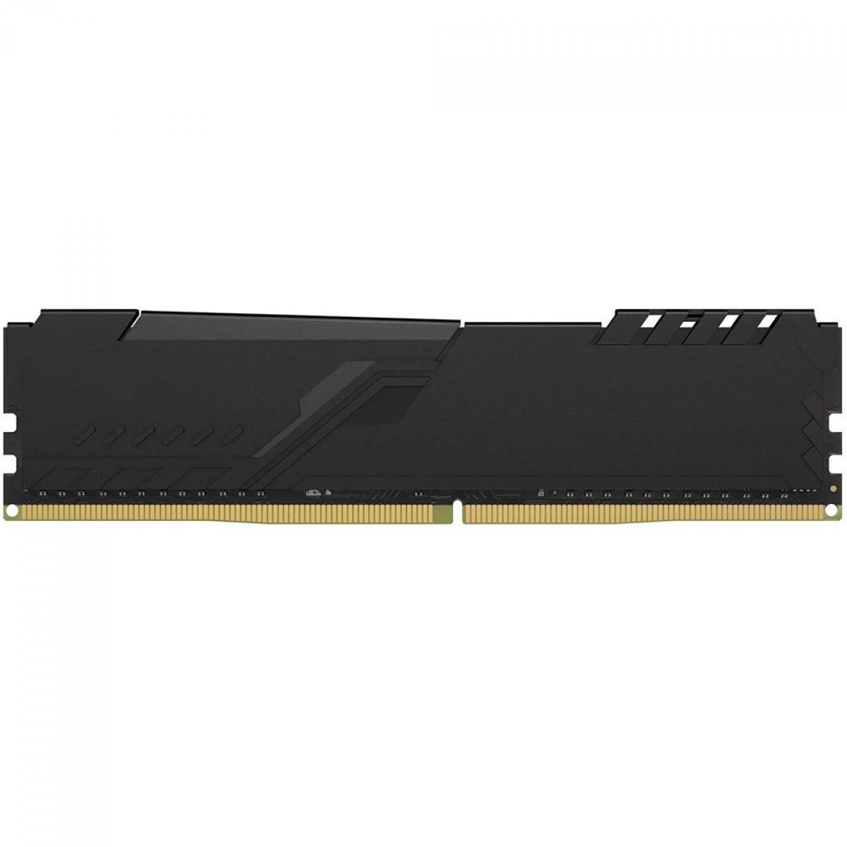 Memória DDR4 HyperX Fury, 4GB, 2400MHz, Black, HX424C15FB3/4