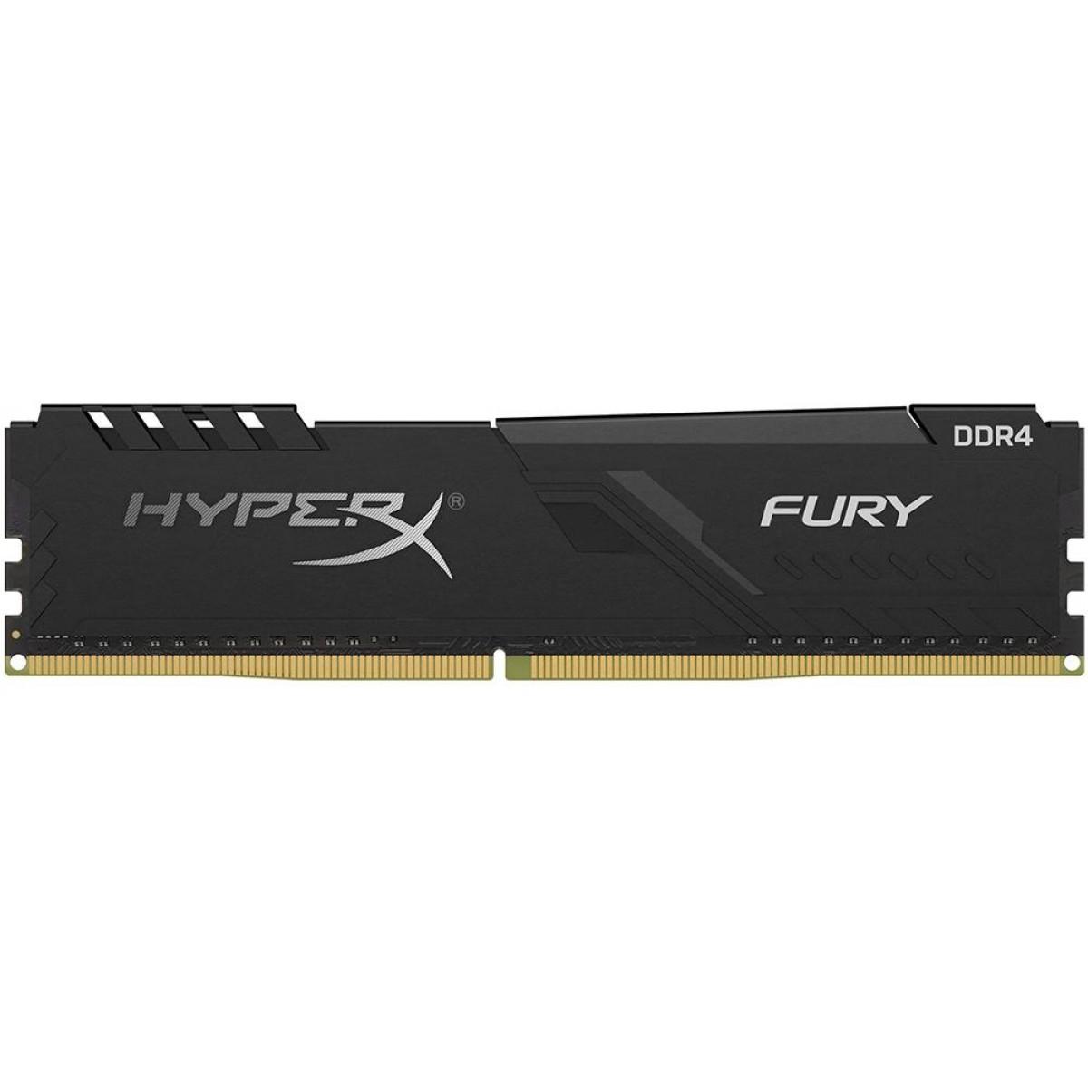 Memória DDR4 Kingston HyperX Fury, 16GB 2666MHz, Black, HX426C16FB3/16