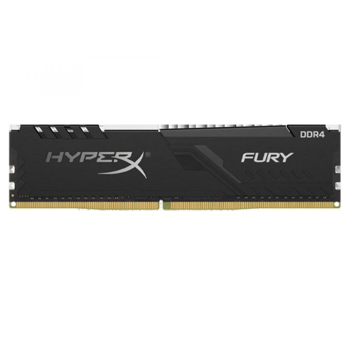 Memória DDR4 Kingston HyperX Fury, 16GB 3466MHz, Black, HX434C16FB3/16