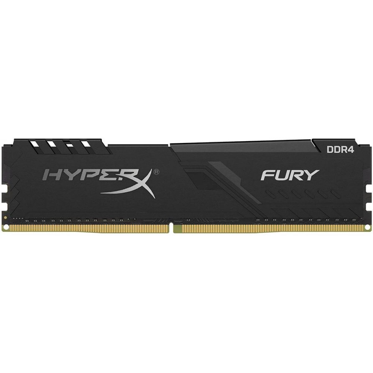 Memória DDR4 Kingston HyperX Fury, 4GB 2666MHz, Black, HX426C16FB3/4