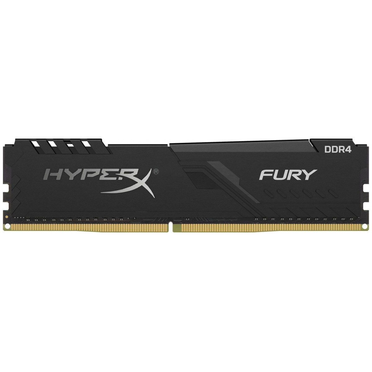 Memória DDR4 Kingston HyperX Fury, 8GB 3200MHz, Black, HX432C16FB3/8