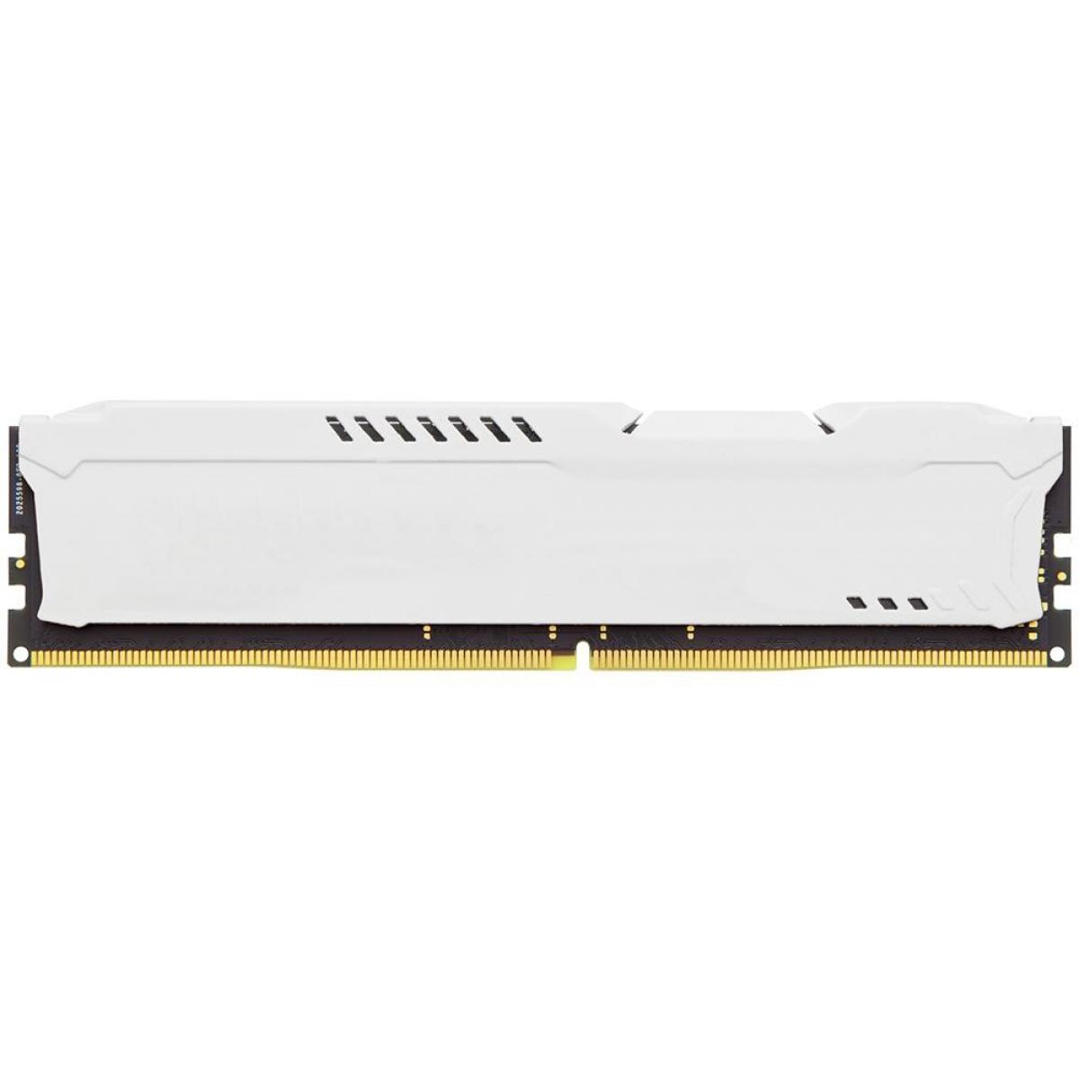 Memória DDR4 Kingston HyperX Fury, 8GB 3200MHz, White, HX432C18FW2/8