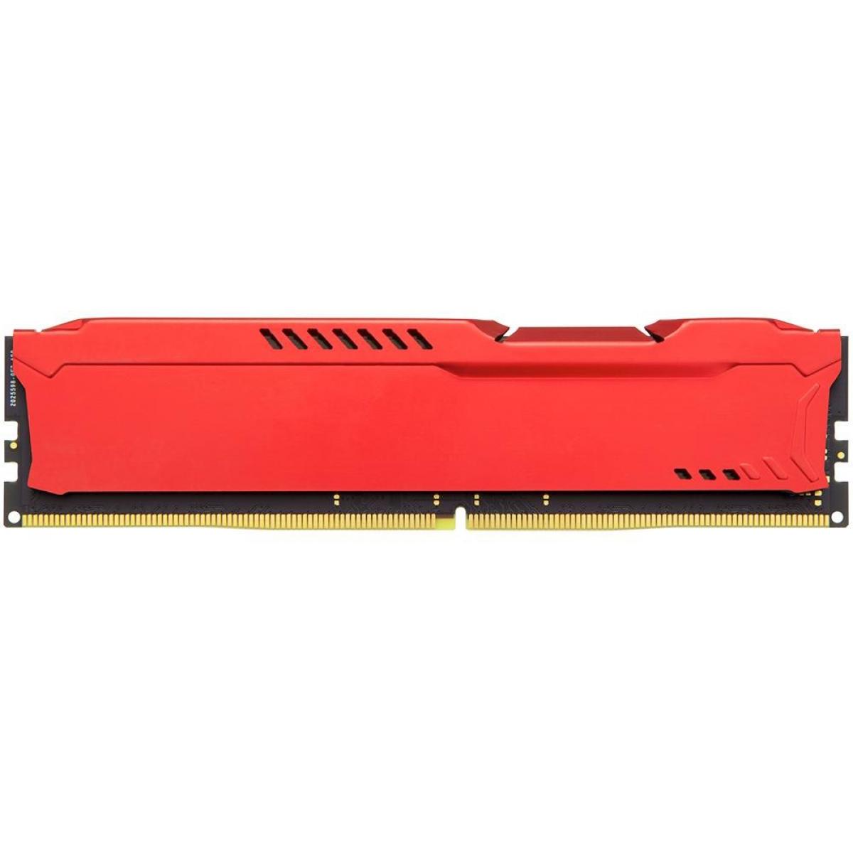 Memória DDR4 Kingston HyperX Fury, 8GB 3466MHz, Red, HX434C19FR2/8