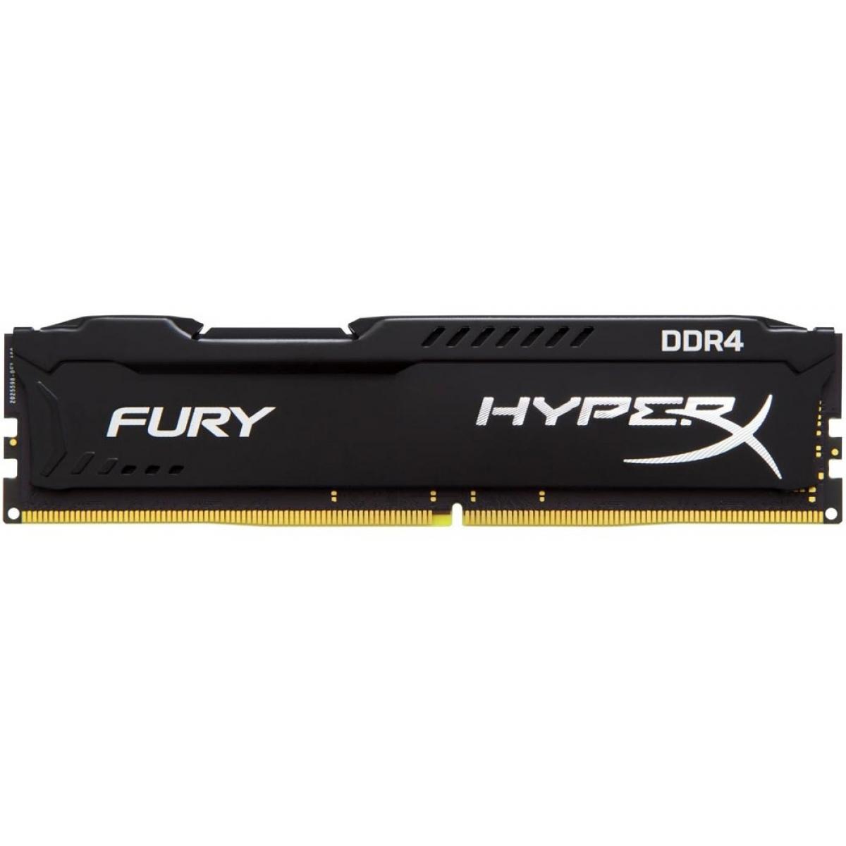Memória DDR4 Kingston HyperX Fury, 8GB 2400MHz, HX424C15FB2/8