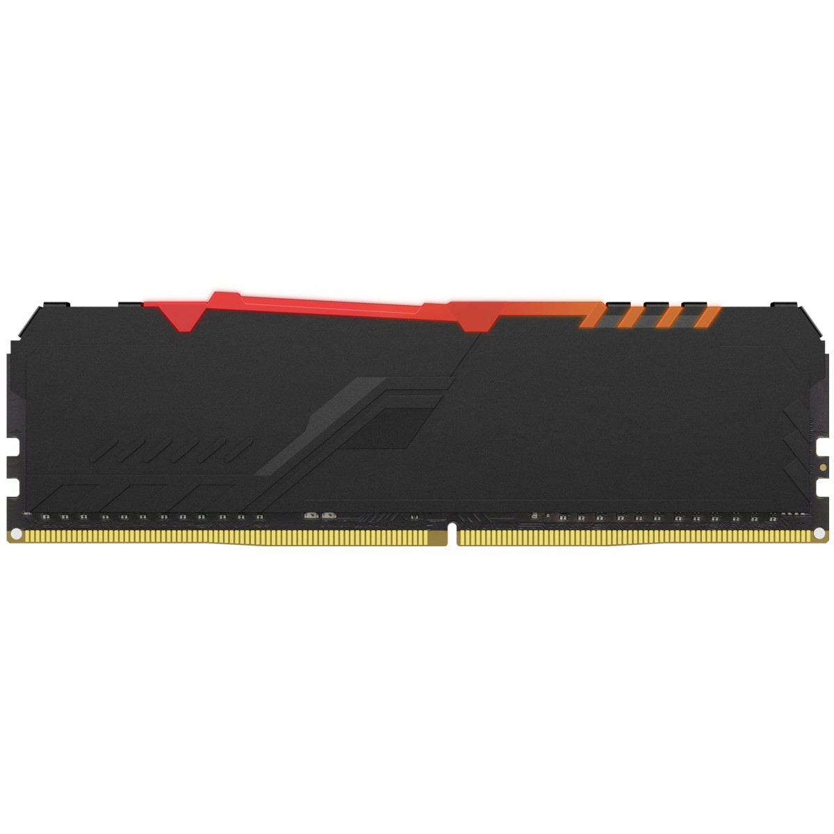 Memória DDR4 Kingston HyperX Fury RGB, 16GB 3000MHz, Black, HX430C15FB3A/16