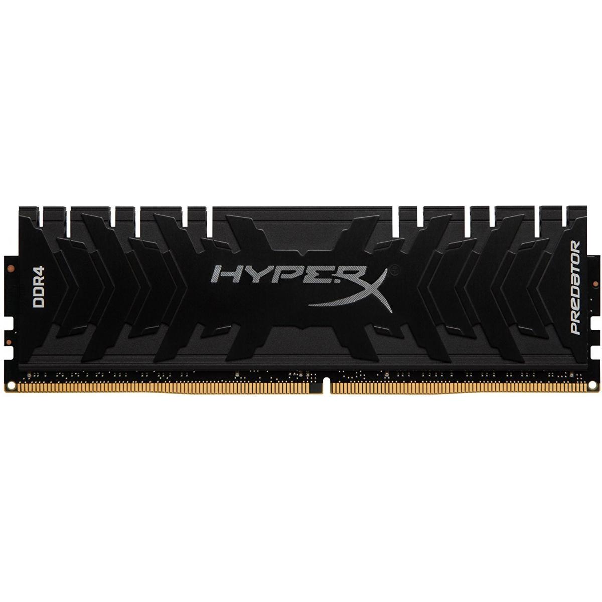 Memória DDR4 Kingston HyperX Predator, 8GB 2400MHZ, HX424C12PB3/8